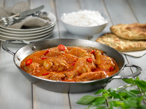 Spicy kyllingcurry